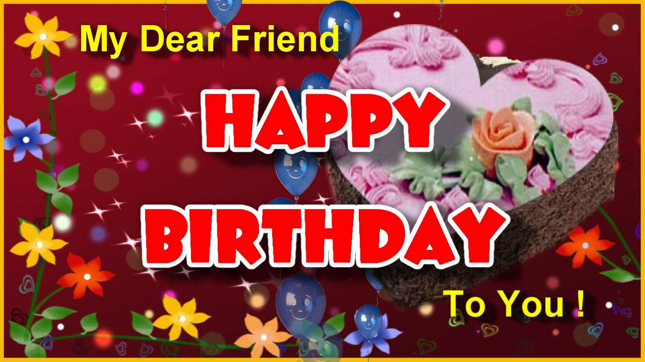 10 Lovely Birthday Wishes For Friends Happy Birthday Wishes