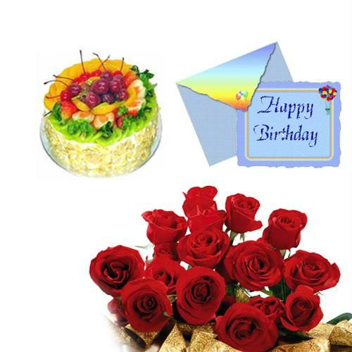 Lovely Birthday Wishes That Can Make Children Happy On Their Cake Bouquet With Flowers And Healthy
