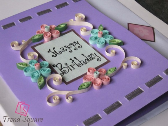 10 Pretty and Bright Birthday Cards That You Can Make Yourself – How to Make an Birthday Card