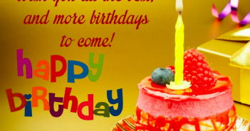 Great Happy Birthday Wishes Facebook Messages for your Friend