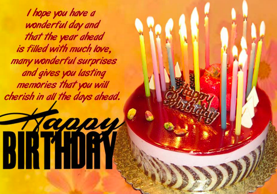 Great Happy Birthday Wishes Facebook Messages for your ...