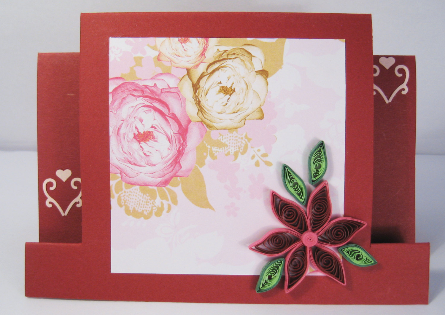 How to make a card by yourself on February 23