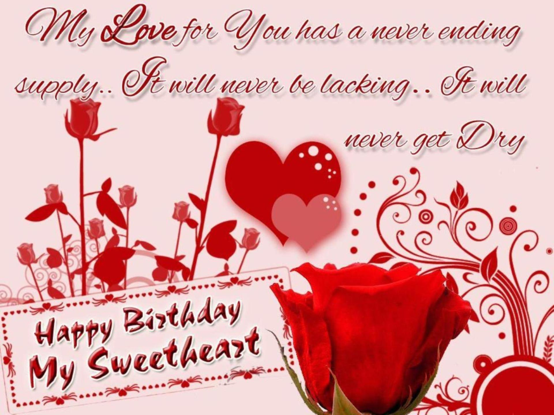 Lovely and Beautiful Birthday Wishes to Make Your Girlfriend Happy on Her Birthday 1