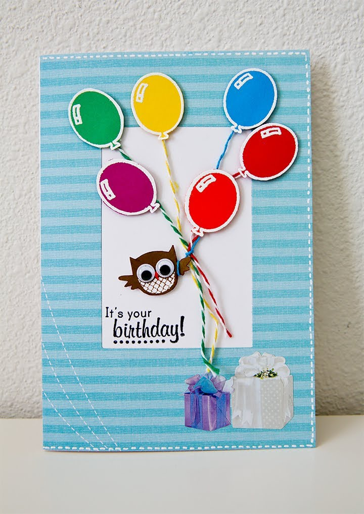 Nice and Appealing Birthday Cards to Send to Your Friends 10