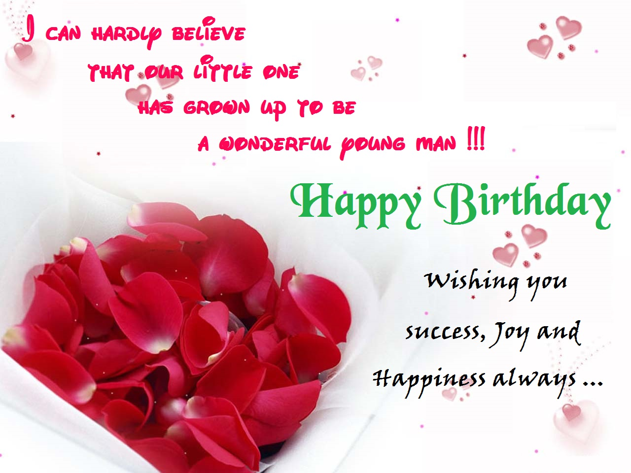 Pretty and Wonderful Birthday Wishes to Make Your Dear Wife Surprised 2