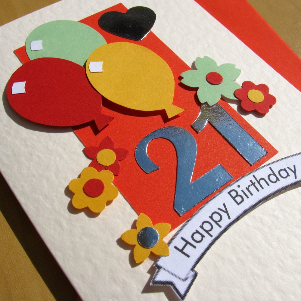 The Collection of Vivid and Colorful Birthday Cards That Your Friend Will Like 1