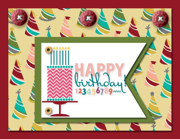 The Collection of Vivid and Colorful Birthday Cards That Your Friend Will Like 7