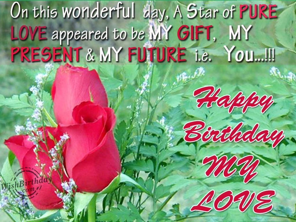 Lovely and Interesting Birthday Wishes to Send Your Wife on Her Birthday 1