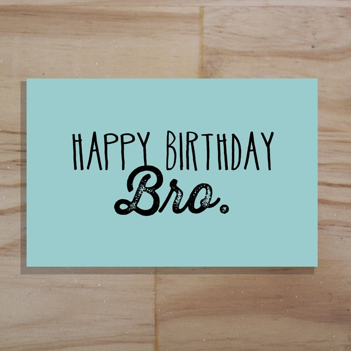 Attractive Birthday Cards to Send Your Wish to Your Dear Brother 3