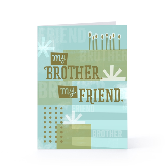 Attractive Birthday Cards to Send Your Wish to Your Dear Brother 6