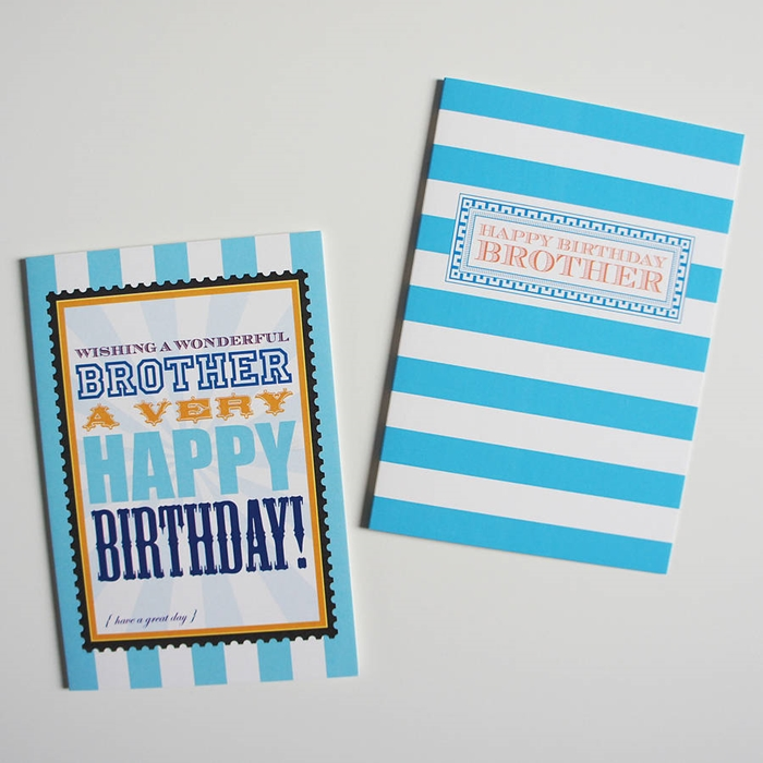 Attractive Birthday Cards To Send Your Wish Dear Brother 7