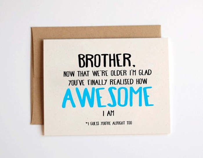 Attractive Birthday Cards To Send Your Wish Dear Brother 9