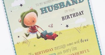 Beautiful and Impressive Birthday Cards to Send Your Wish to Husband 6