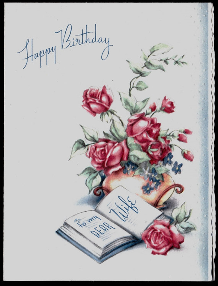 Beautiful and Impressive Birthday Cards to Send Your Wish to Your Dear Wife 5