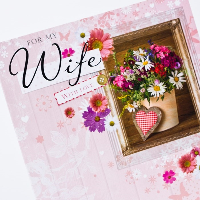 Beautiful and Impressive Birthday Cards to Send Your Wish to Your Dear Wife 6