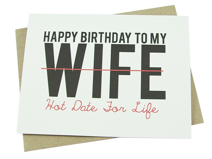 Impressive And Colorful Birthday Cards That Can Touch Your Wifes
