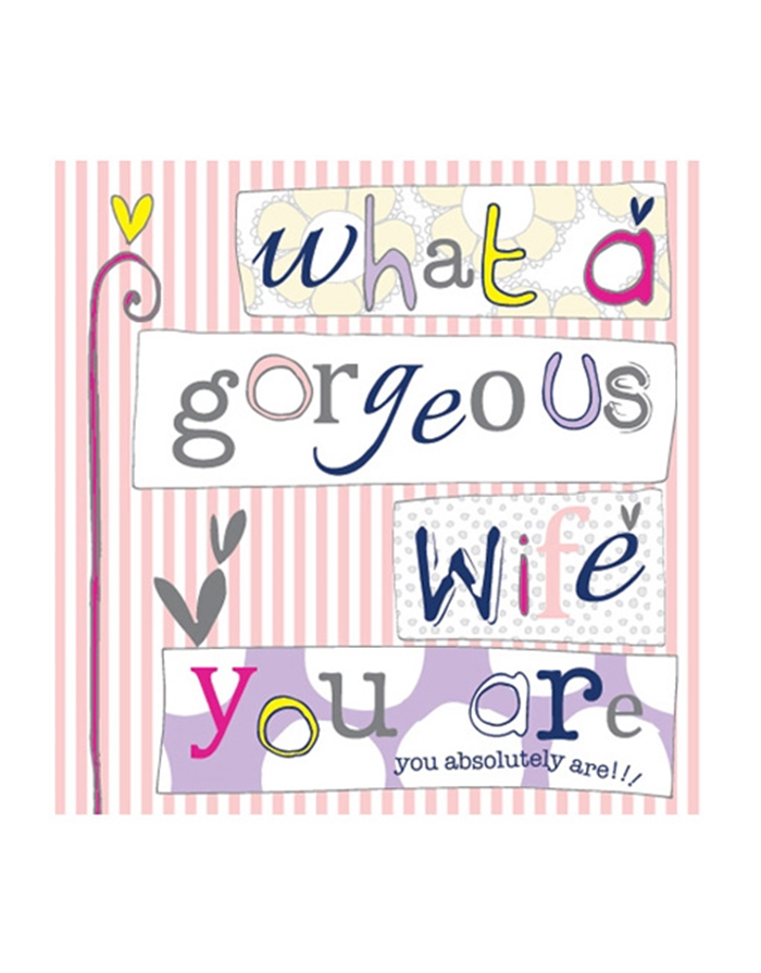 Impressive and Colorful Birthday Cards That Can Touch Your Wife's Heart 3