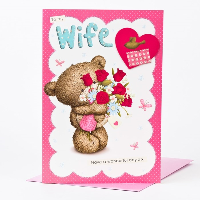 Impressive and Colorful Birthday Cards That Can Touch Your Wife's Heart 5