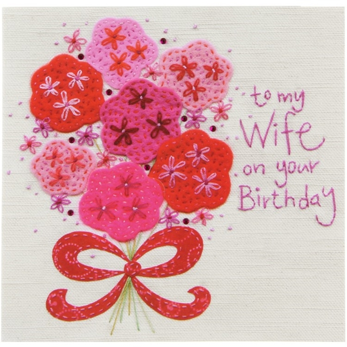 Impressive and Colorful Birthday Cards That Can Touch Your Wife's Heart 7