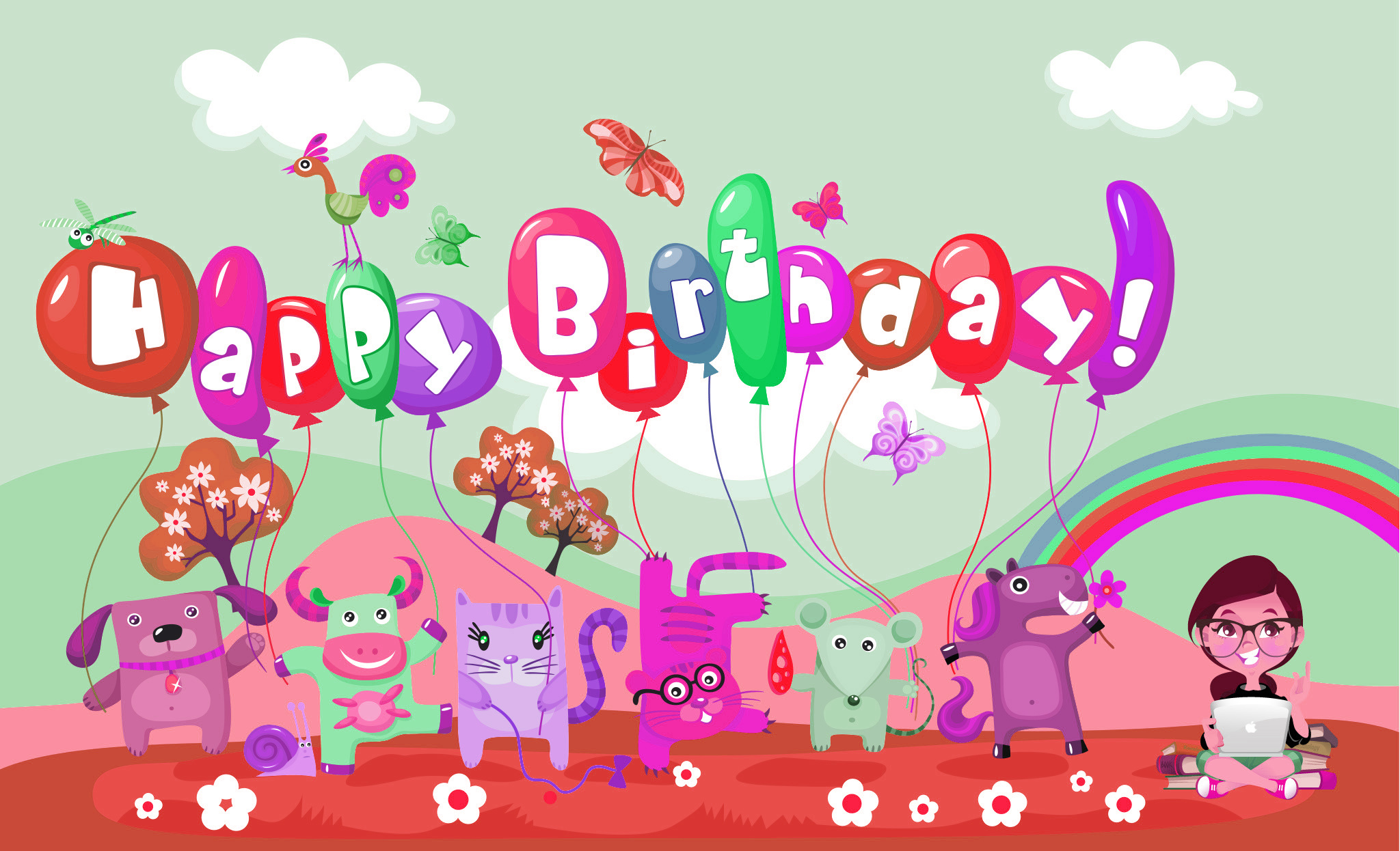 Lovely And Charming Birthday Wishes To Write For Your Little Princess 1