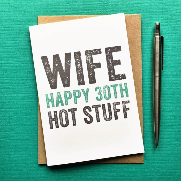 Lovely and Unique Birthday Cards to Send to Your Beloved Wife 2
