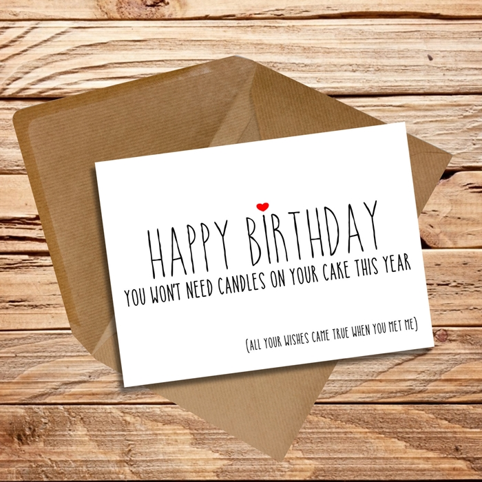 The Collection of Lovely and Attractive Birthday Cards That Your Wife Will Like 8