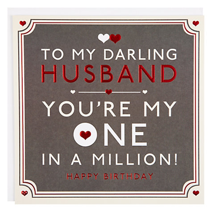The Collection Of Nice And Vivid Birthday Cards For Your Dear Husband 1