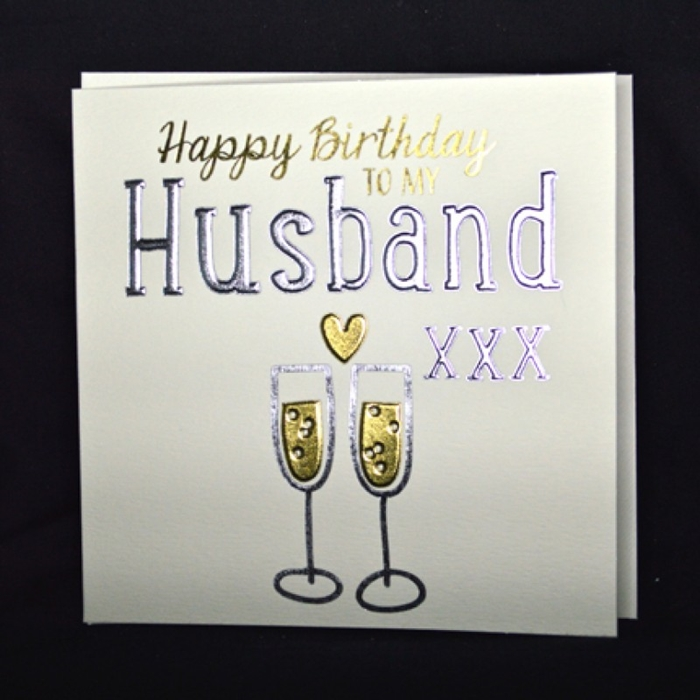 The Collection of Nice and Vivid Birthday Cards for Your Dear Husband 9