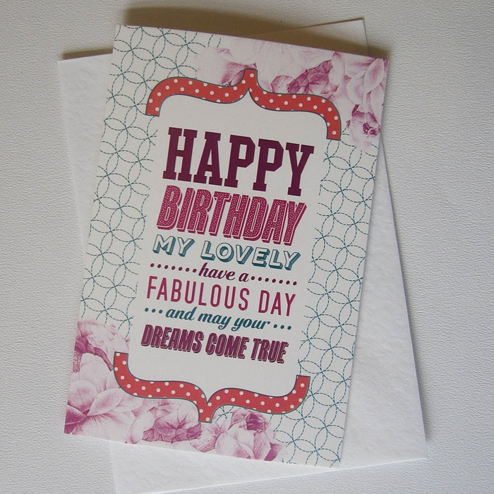 Romantic Birthday Cards That Your Girlfriend Will be Impressed 4