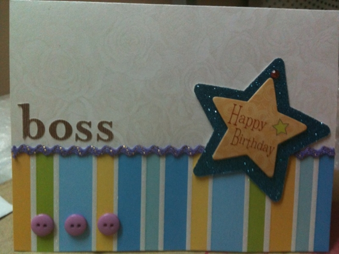 The Collection of Beautiful and Impressive Birthday Cards for Boss 2
