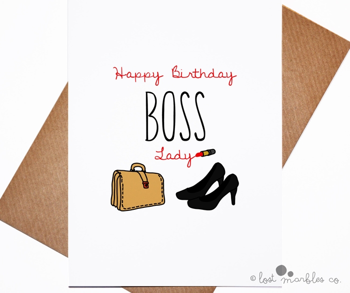 The Collection Of Beautiful And Impressive Birthday Cards For Boss