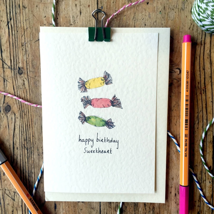 The Most Beautiful Birthday Cards to Send to Your Sweetheart 6