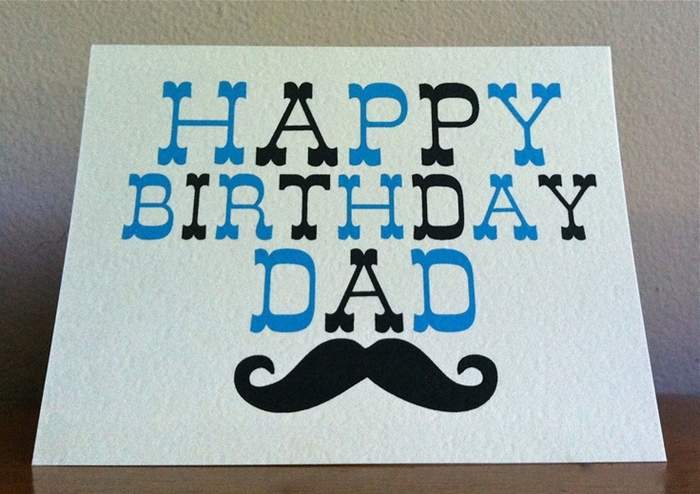 Beautiful and Impressive Birthday Cards to Send Your Love to Dad 2