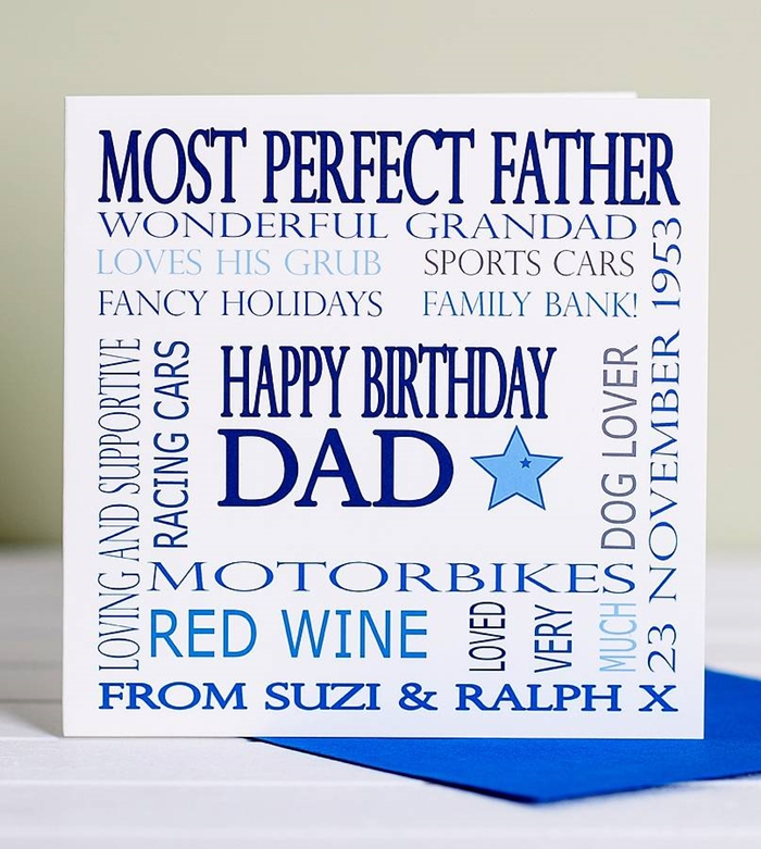 Beautiful and Impressive Birthday Cards to Send Your Love to Dad 5