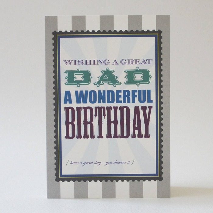 Beautiful and Impressive Birthday Cards to Send Your Love to Dad 7