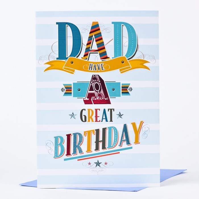 Beautiful and Impressive Birthday Cards to Send Your Love to Dad 9