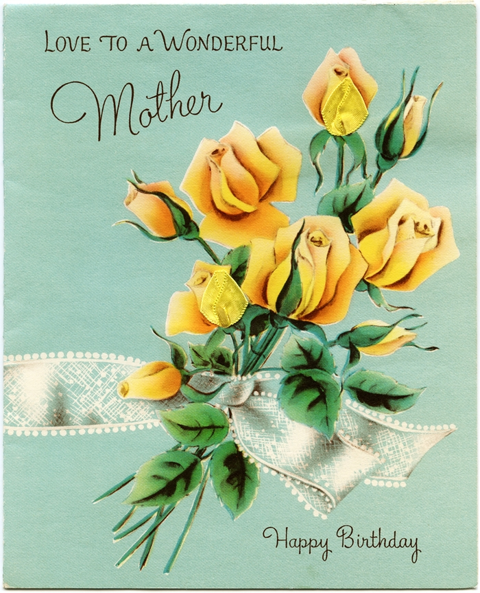 Beautiful Birthday Cards to Send to Mom on Her Birthday Happy – Birthday Greeting Card for Mother