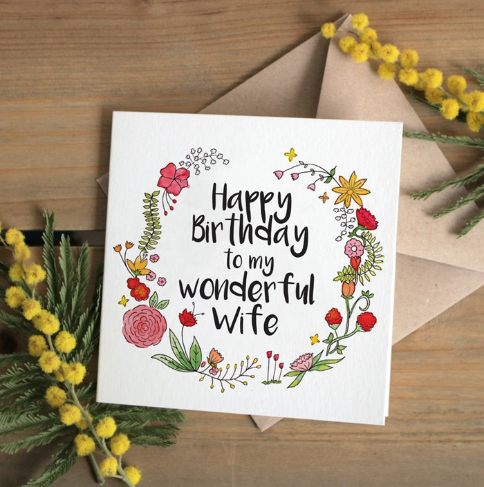 The Collection of Interesting Birthday Cards That Your Wife Will Like 4