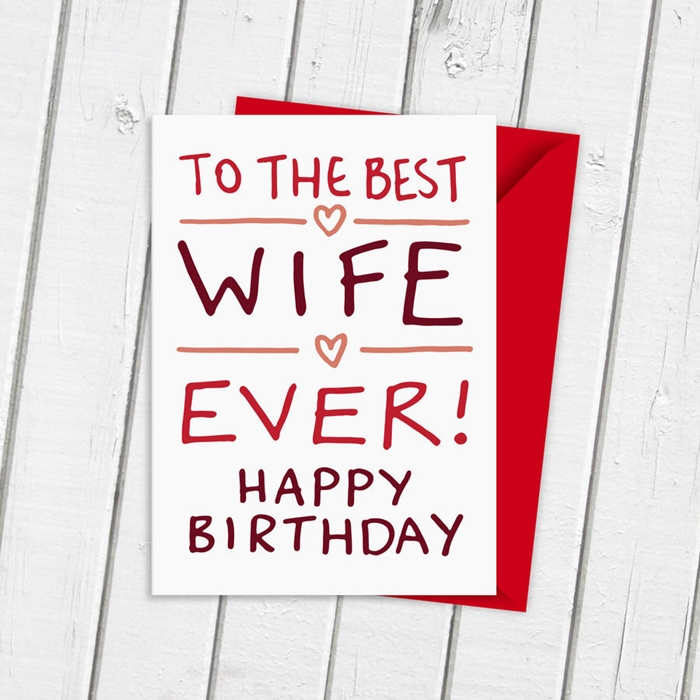 The Collection of Interesting Birthday Cards That Your Wife Will Like 7