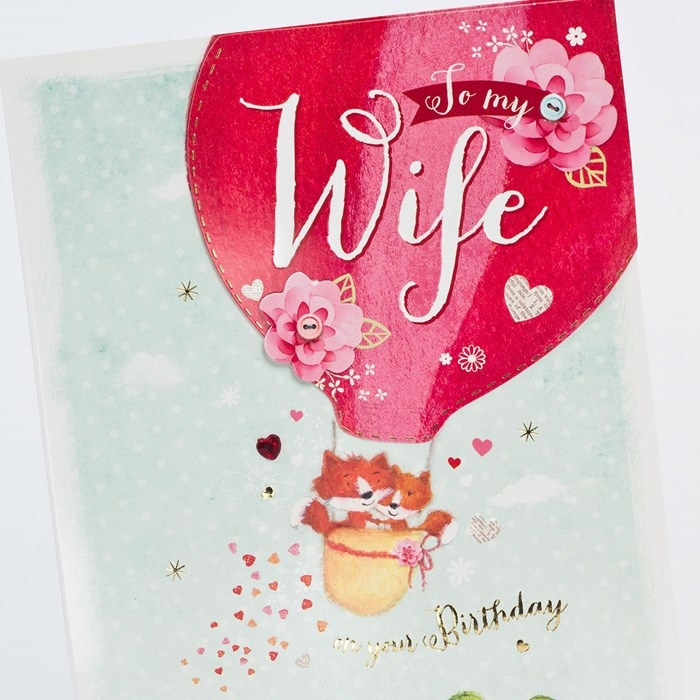 The Collection of Interesting Birthday Cards That Your Wife Will Like 8