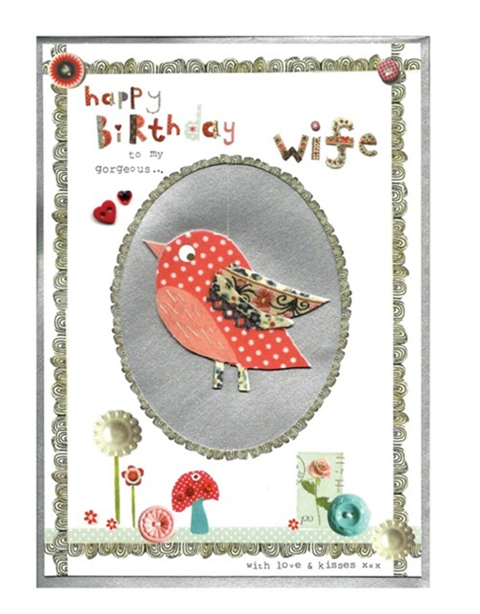 The Collection of Nice and Lovely Birthday Cards That Your Wife Will Like 10