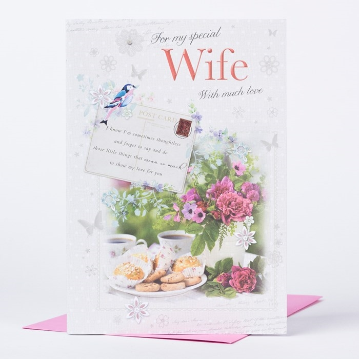 The Collection of Nice and Lovely Birthday Cards That Your Wife Will Like 7