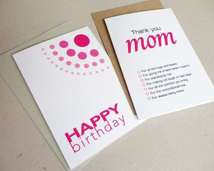 The Nice And Lovely Birthday Cards To Send Mom On Her 5