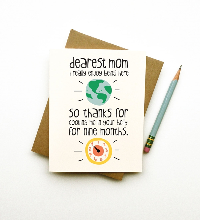 Cute Birthday Card Ideas For Mom Cute Birthday Gift – Birthday Card for Mom Ideas