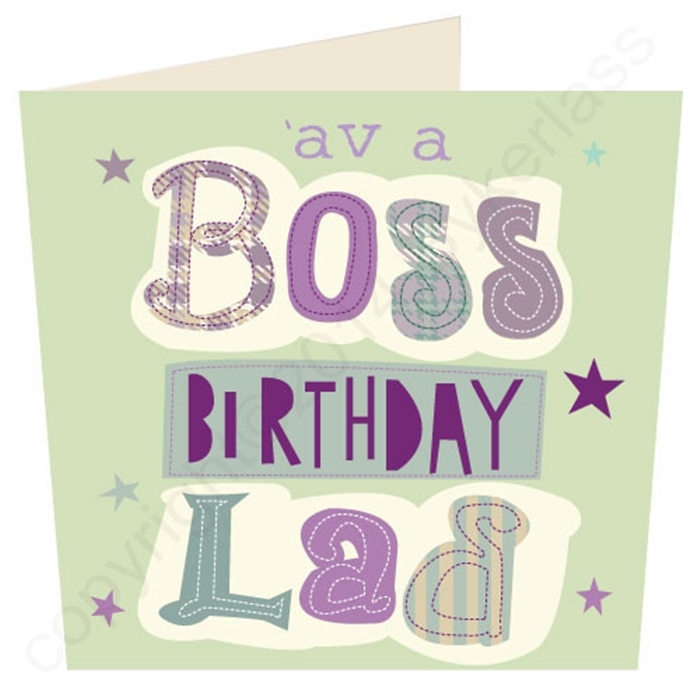 Unique and Wonderful Birthday Cards to Show Your Respect to Your Boss 4