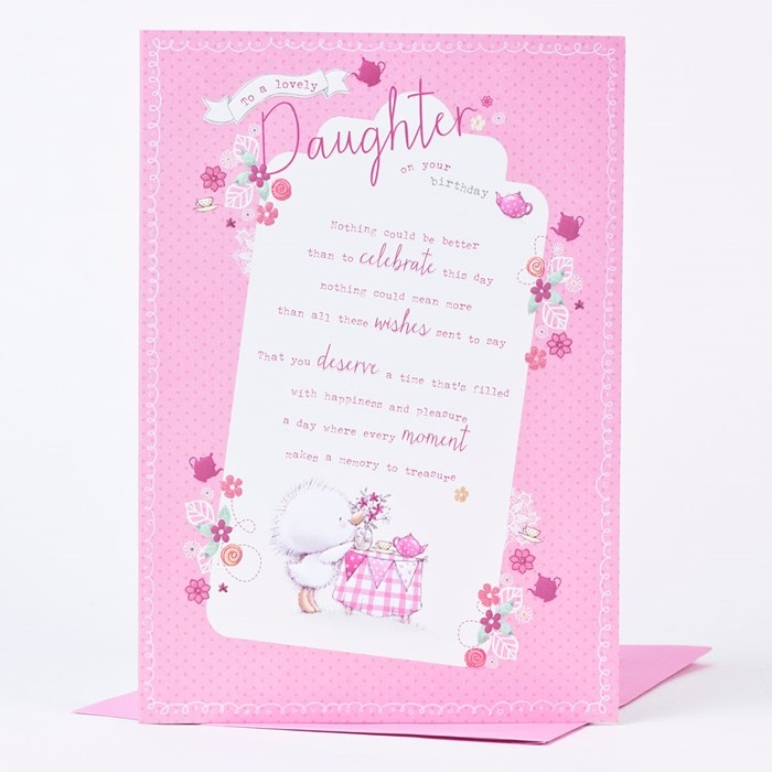 Amazing Birthday Cards That Can Make Your Daughter's Birthday Unforgettable 5