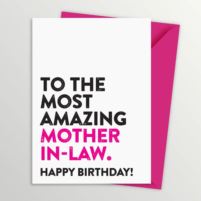 Beautiful Birthday Cards to Send to Your Mother-in-Law on Her Birthday 1