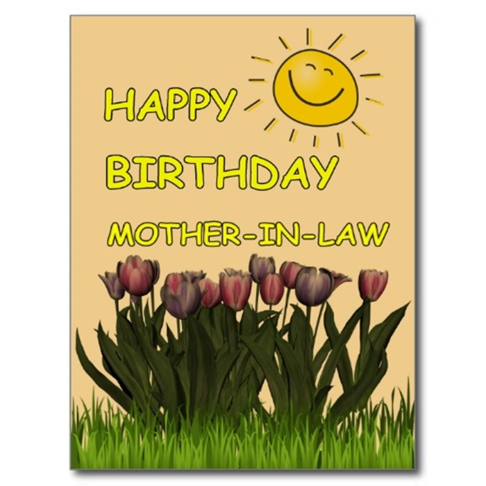 Beautiful Birthday Cards to Send to Your Mother-in-Law on Her Birthday 10