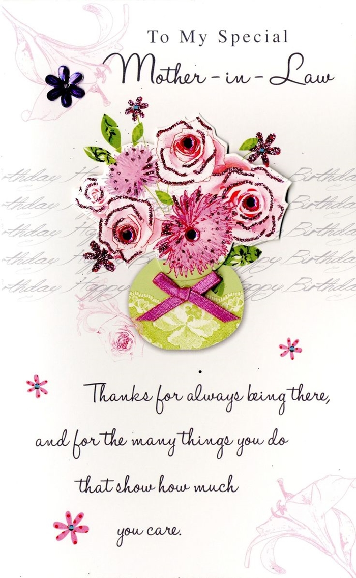 Beautiful Birthday Cards to Send to Your Mother-in-Law on Her Birthday 2