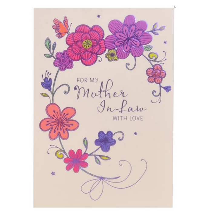 Beautiful Birthday Cards to Send to Your MotherinLaw on Her – Birthday Cards Her